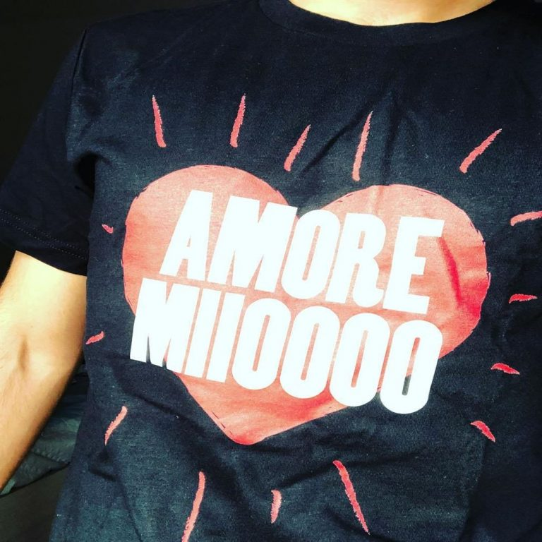 Amore Mio My Love Loving Heart Amore Miioooo Shirts Plus Size Up To 5xl photo review