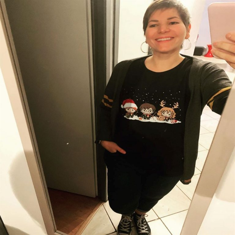 Chibi Ron Weasley Hermione Granger Harry Potter Christmas Shirts Full Size Up To 5xl photo review