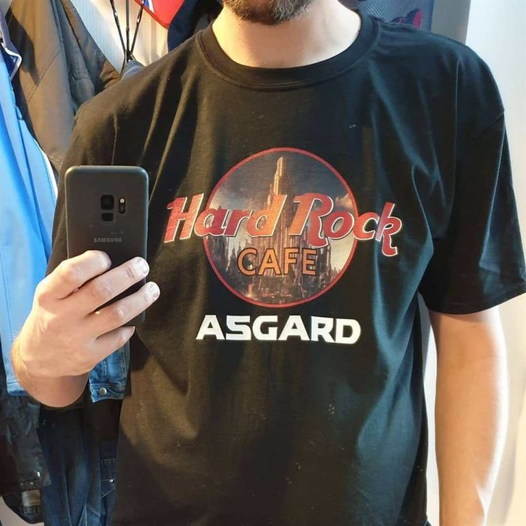 Hard Rock Cafe Asgard Marvel Avengers Shirts Size Up To 5xl photo review