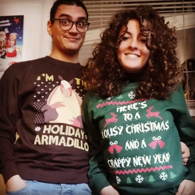 Im The Holiday Armadillo Friends Christmas Holiday Shirts Plus Size Up To 5xl photo review