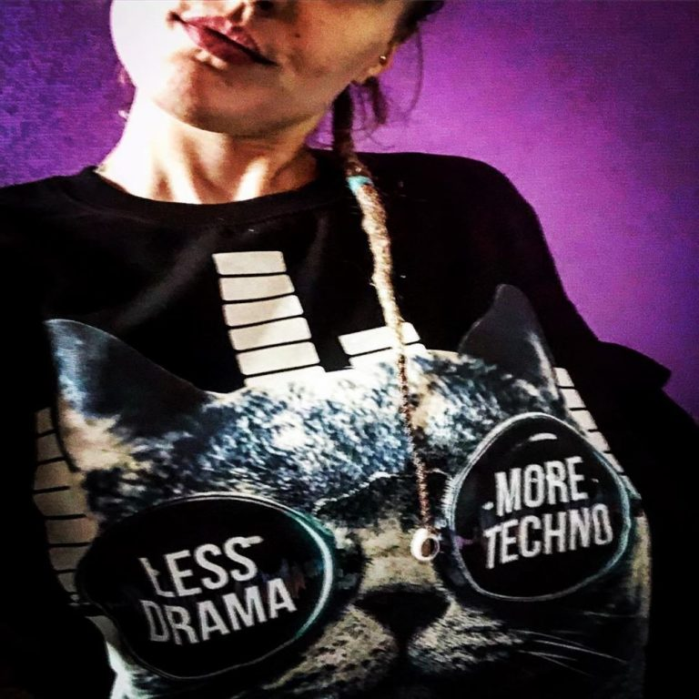 Less Drama More Techno Sunglasses Cat Shirts Full Size Up To 5xl photo review