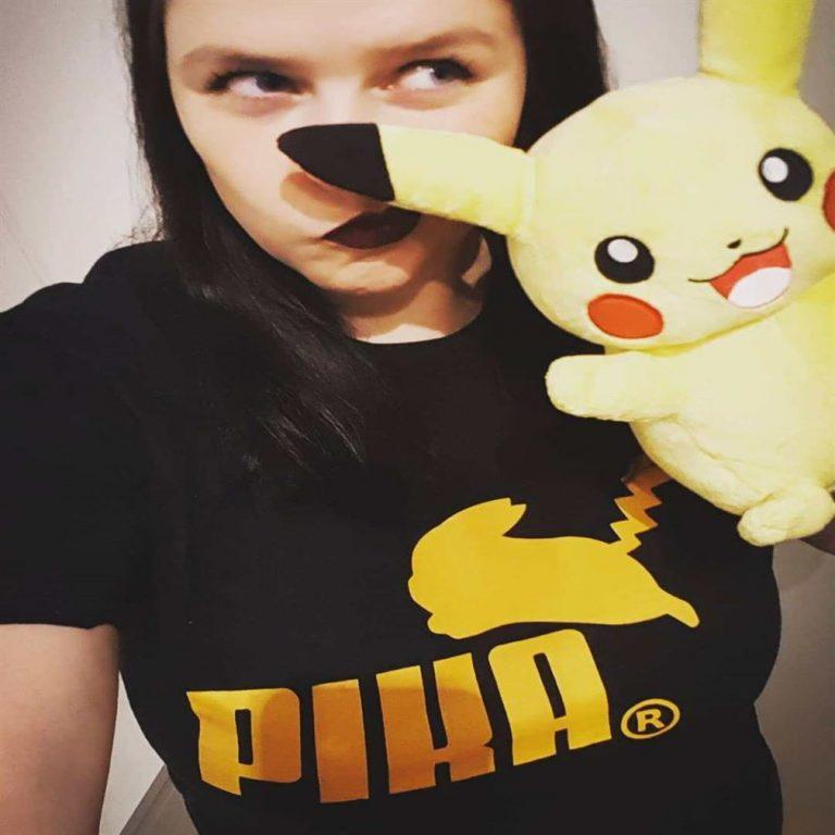 Puma Logo Pika Pokemon Pikachu Mashup Shirts Plus Size Up To 5xl photo review