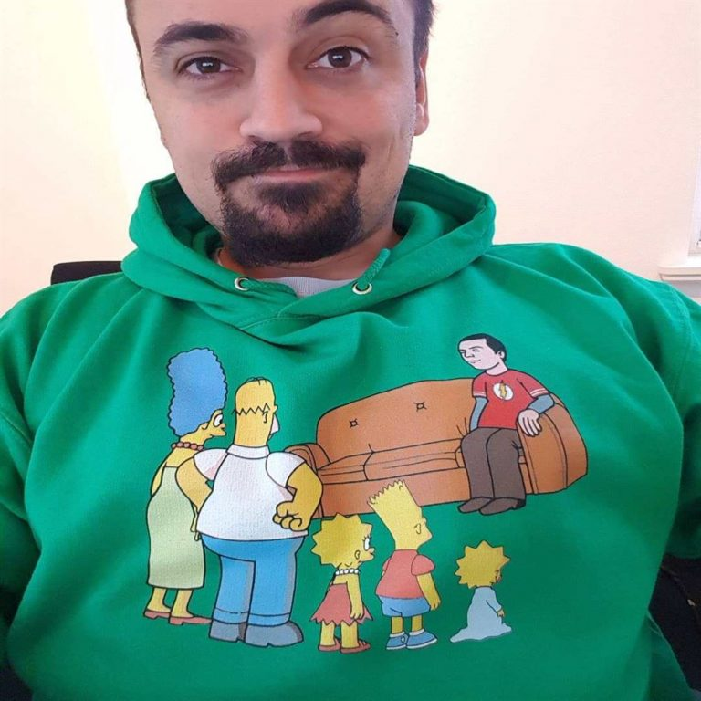 The Simpsons Family And Sheldon Cooper Mashup Shirts Full Size Up To 5xl photo review