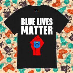 Police Blue Lives Matter Tshirt