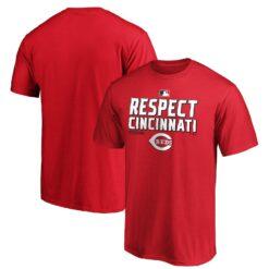 Respect Cincinnati Reds T-shirt 2020