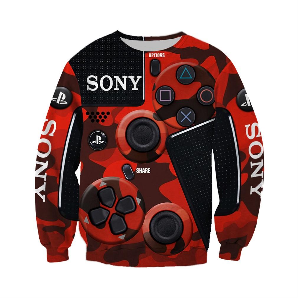 Sony Dualshock 4 3d V2 Hoodie