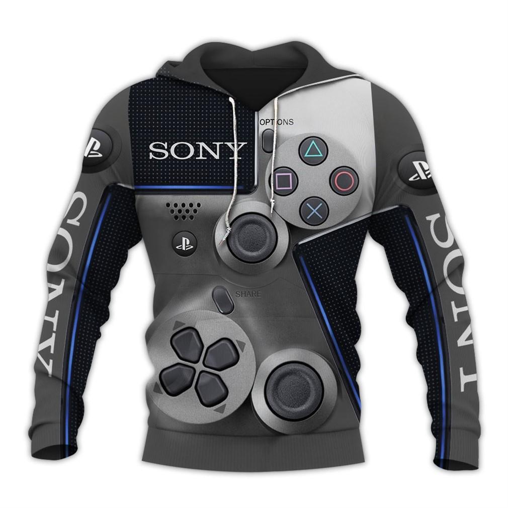 Sony Dualshock 4 3d V4 Hoodie