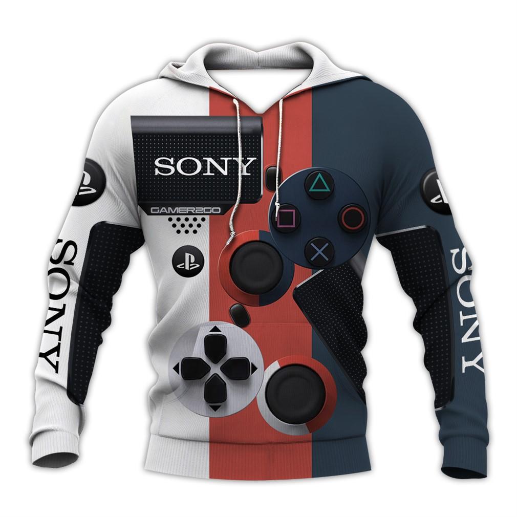Sony Dualshock 4 3d V6 Hoodie