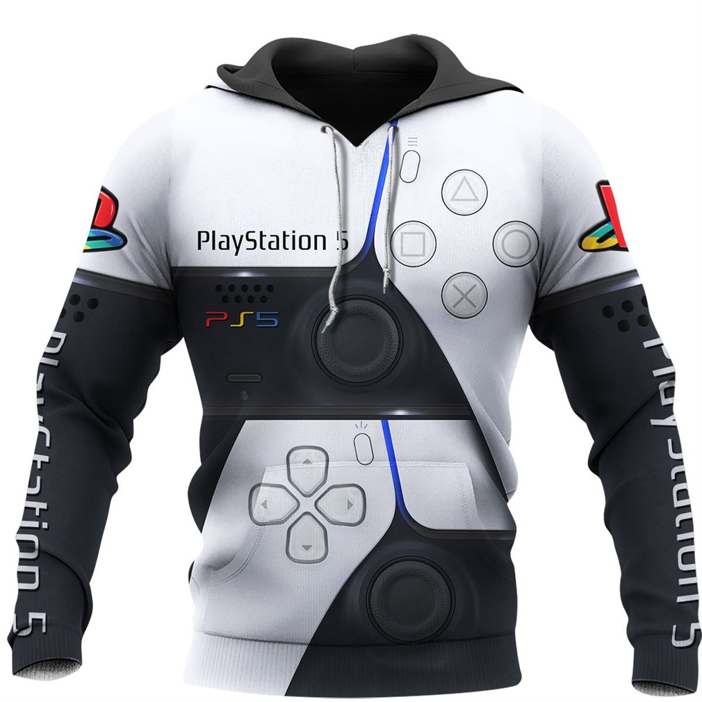 PS5 3D Full Over Printed Sport Hoodie