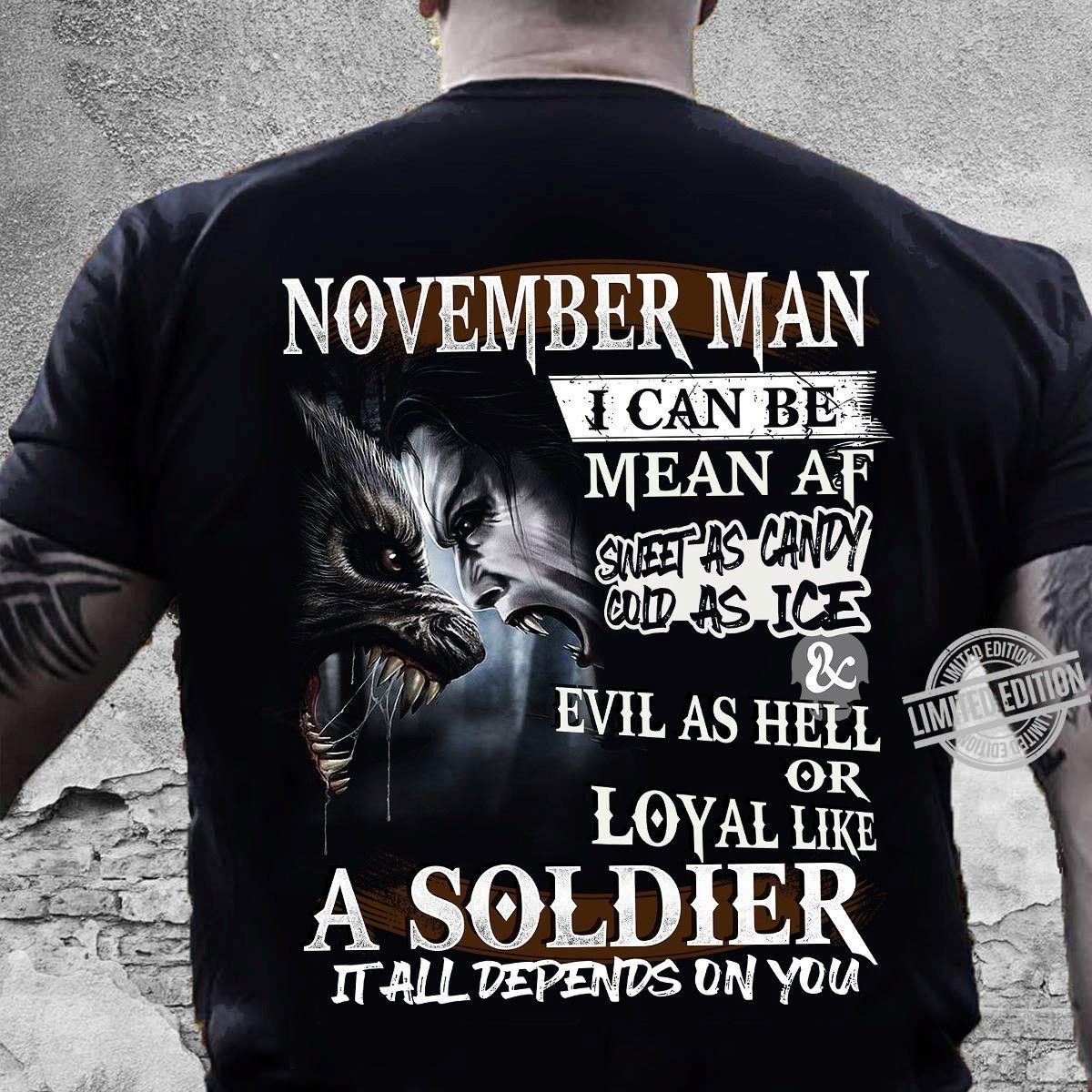 November Man Tshirt 2020