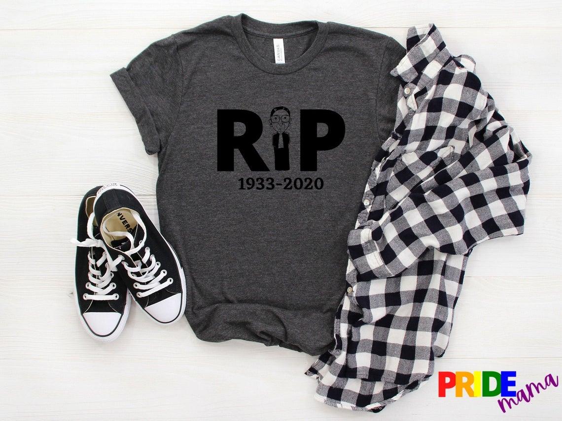 Rip Rbg 1933 2020 Ruth Bader Ginsburg Shirt