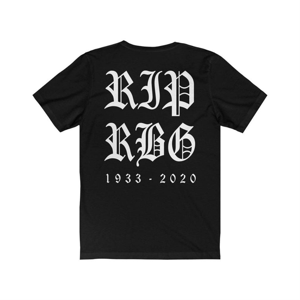 Rip Rgb Ruth Bader Ginsburg Memorial T Shirt