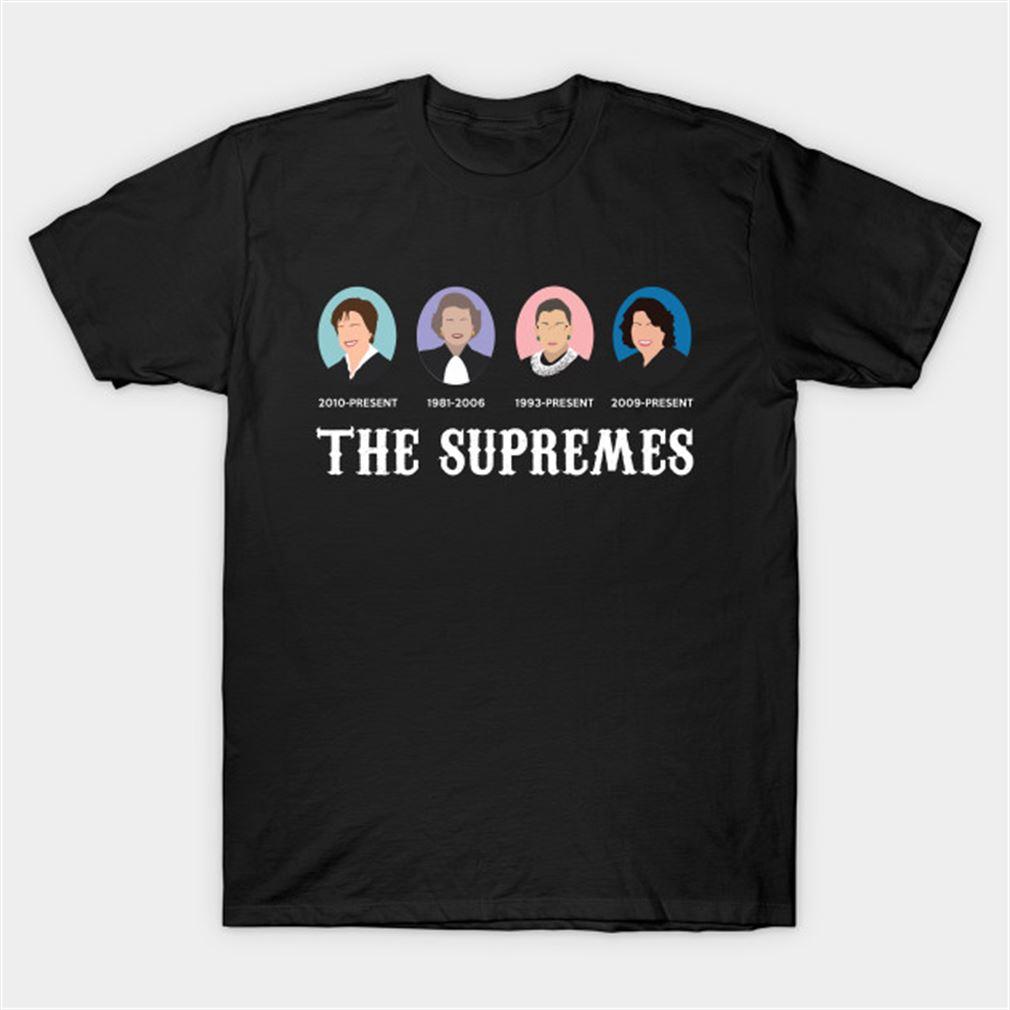 Ruth Bader Ginsburg Shirt The Supremes Rbg Ruth Bader Ginsburg T-shirt