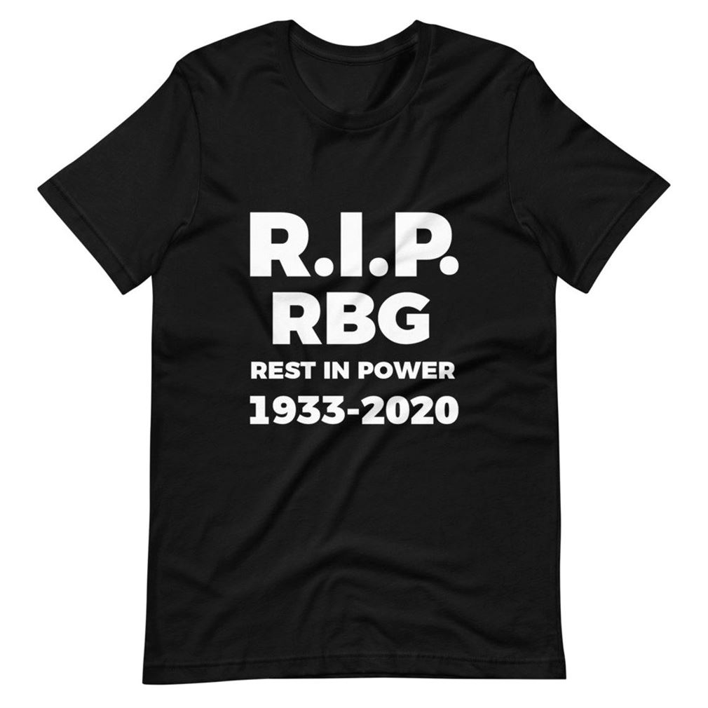 Womens Rip Rbg Shirt - Rest In Power Shirt - Remember - Notorious Rbg - Rest In Peace Ruth Bader