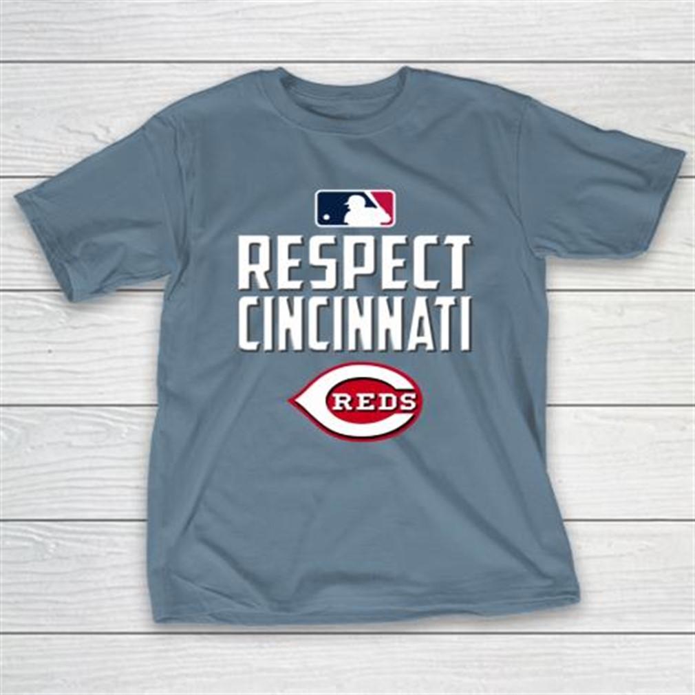 Respect Cincinnati Reds T-shirt