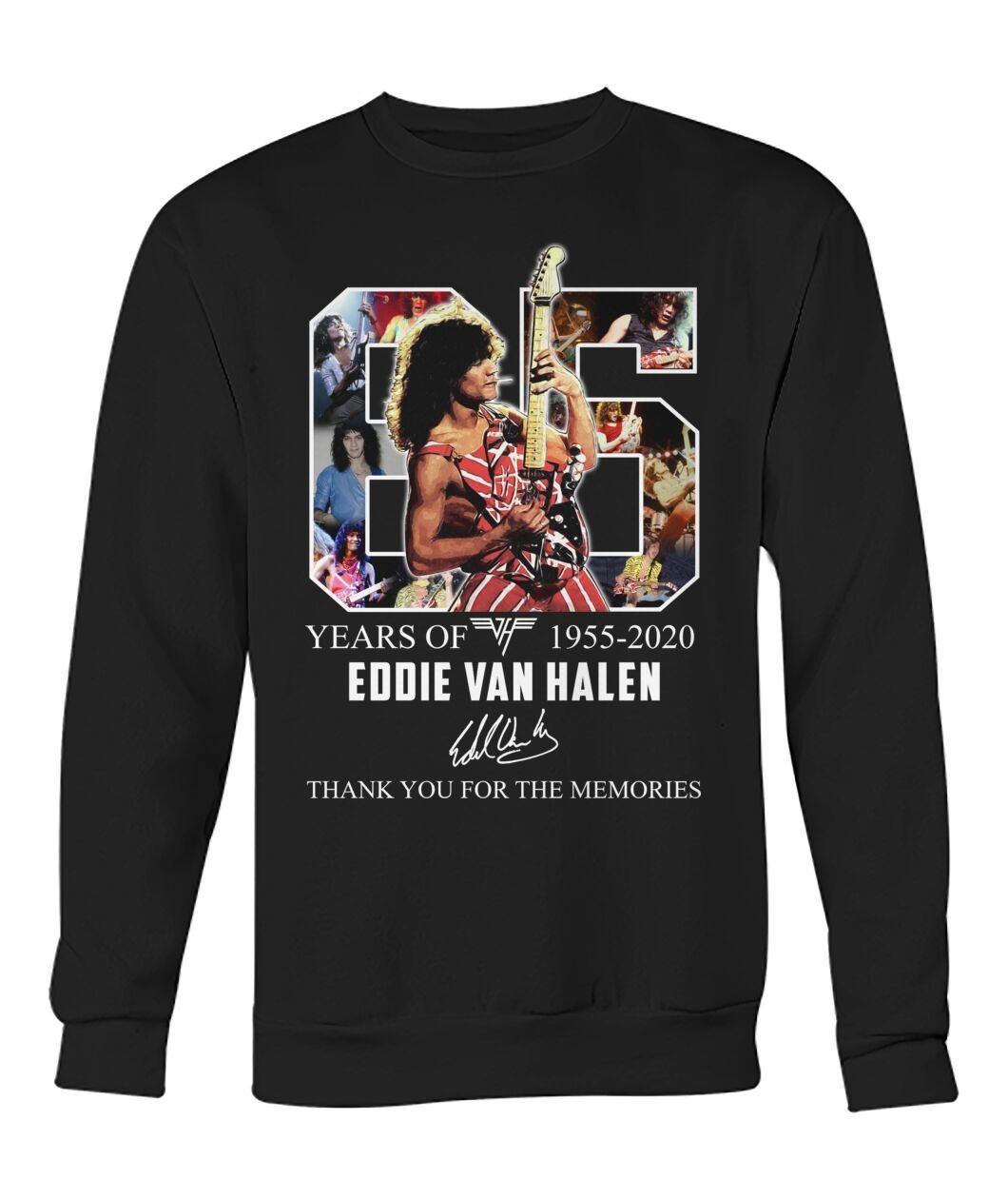 Eddie Van Halen 1955 2020 Thank You For The Memories