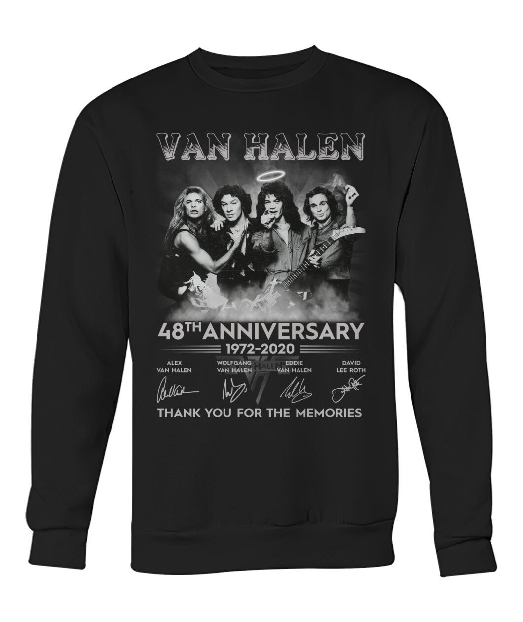 Eddie Van Halen Shirt 48th Anniversary