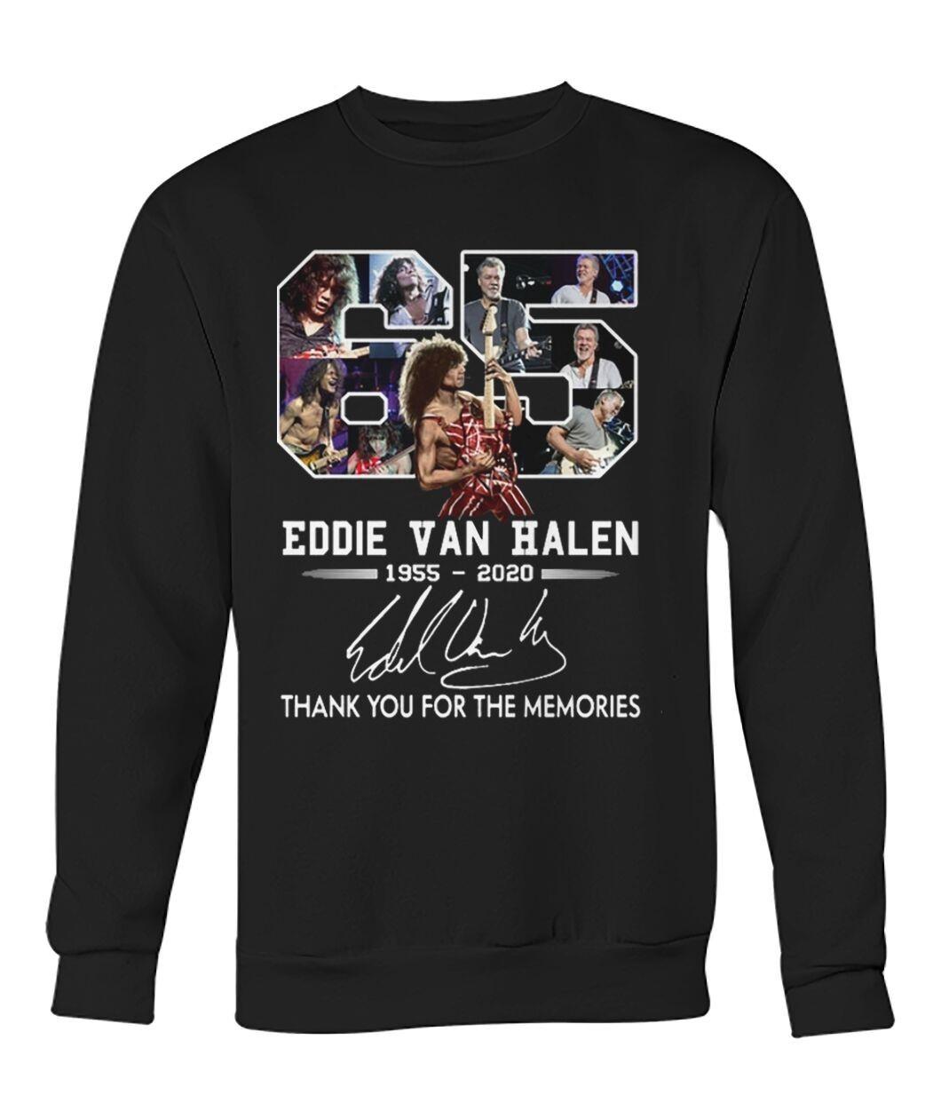Eddie Van Halen Shirt 65 Year Old Shirt