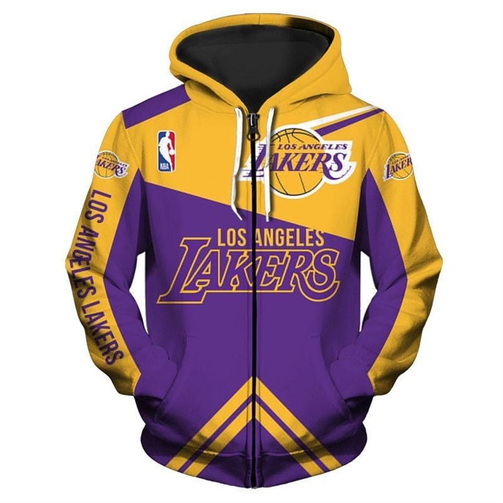 Los Angeles Lakers Hoodie 3d
