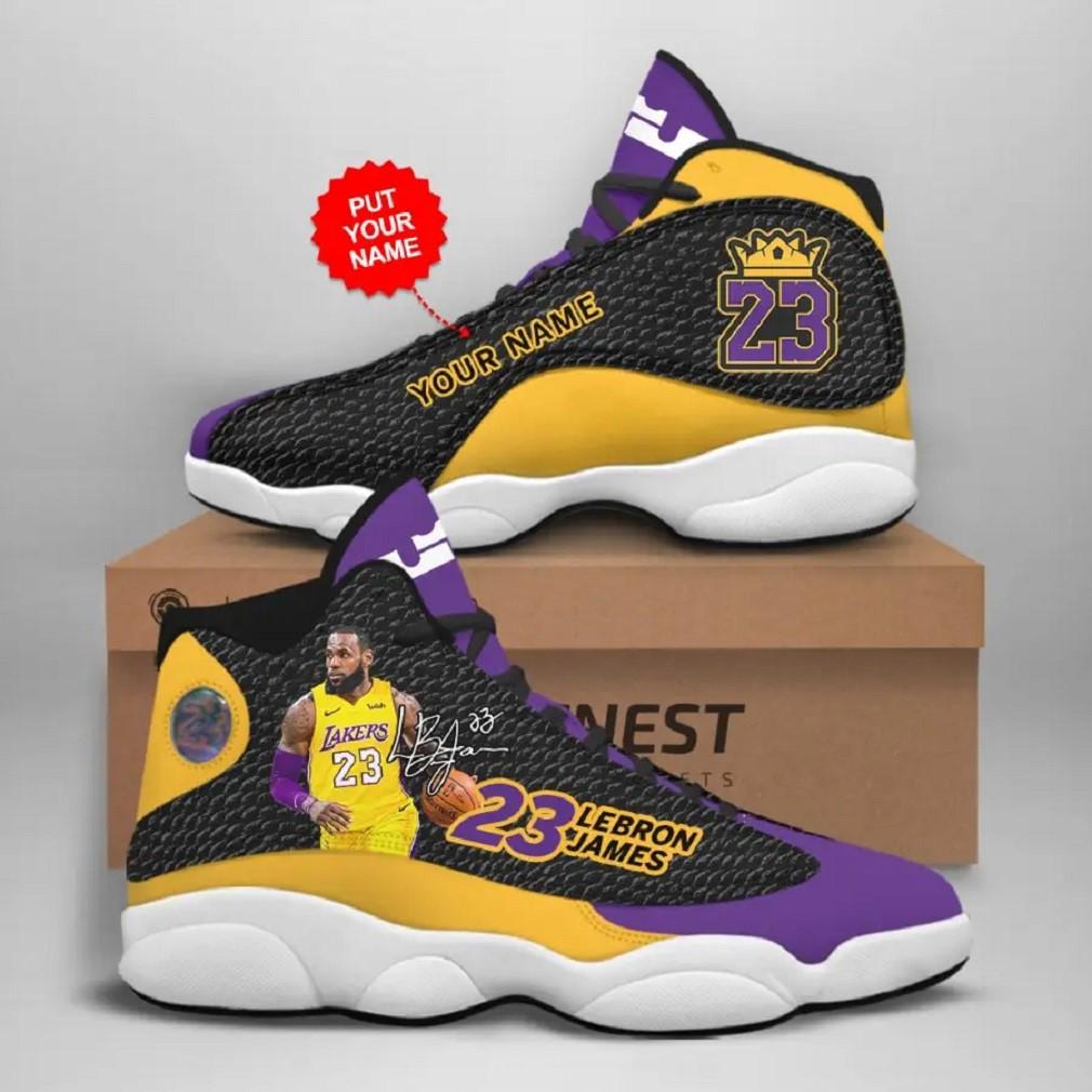 Personalized Lj Jd13 Sneaker