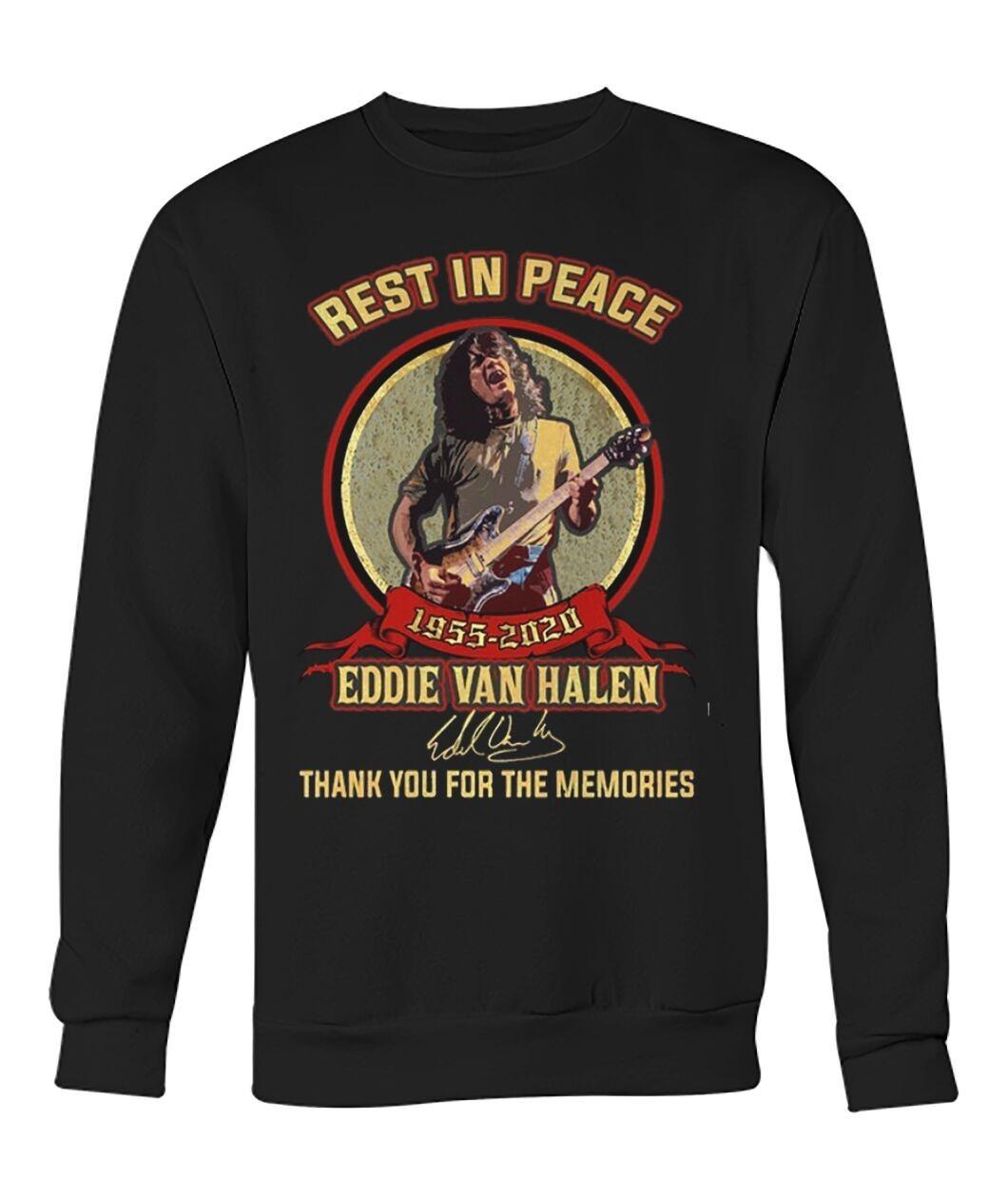 Rest In Reace Eddie Van Halen Shirt