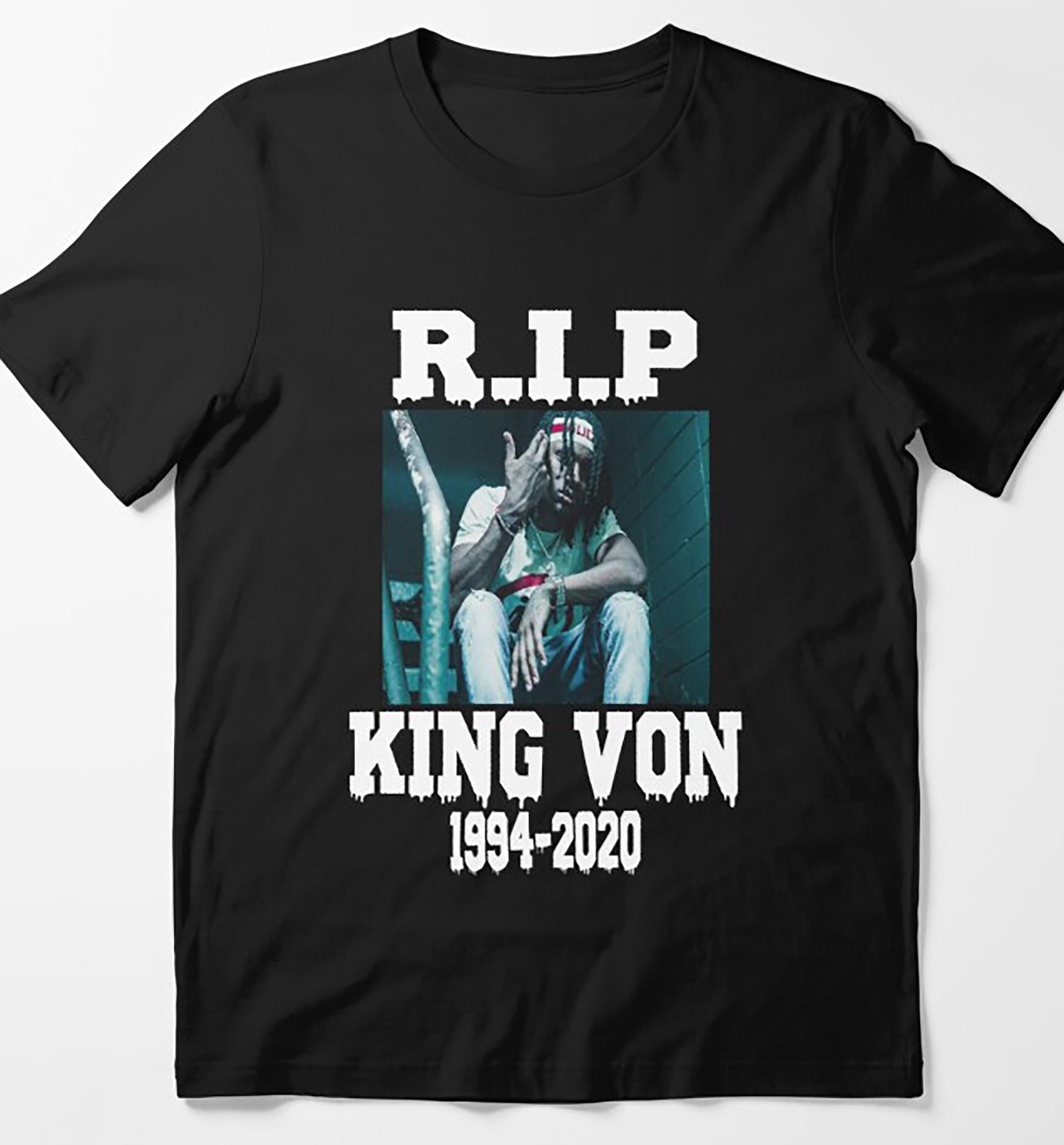 Rip King Von Rip King Von 1994-2020 Essential T-shirt