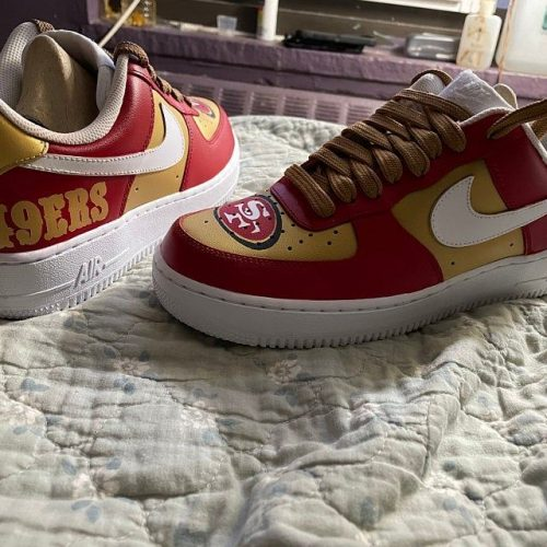Nfl San Francisco 49ers Running Shoes Sneaker Custom Shoes V2 photo review