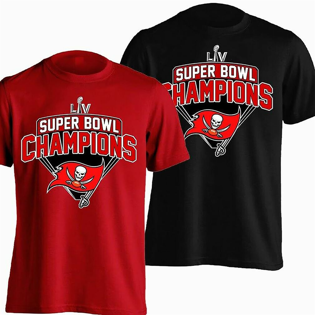 Super Bowl Lv Tampa Bay Buccaneers Champions T-shirt Buccaneers Lover Nfl
