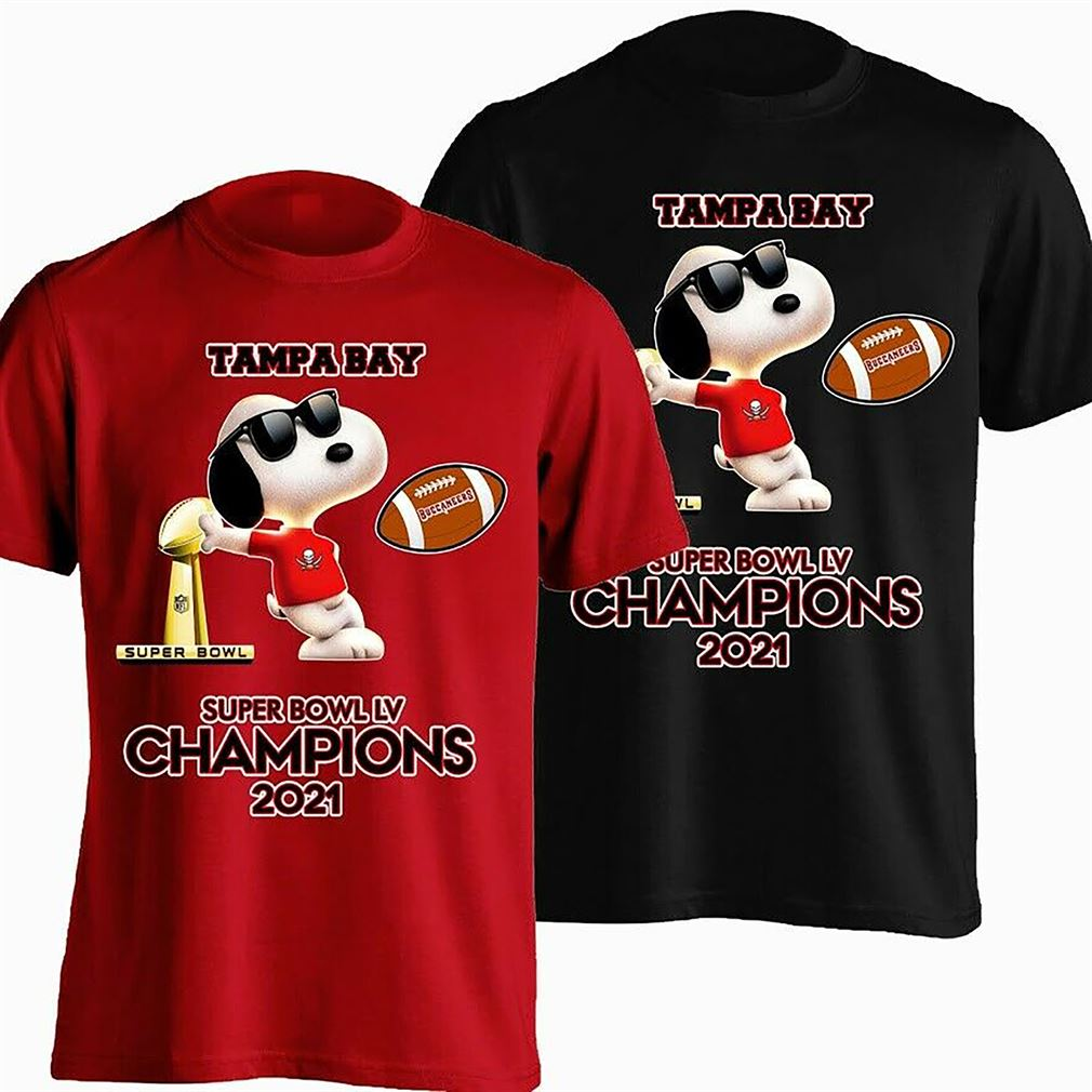 Tampa Bay Buccaneers 2021 Super Bowl Lv Champions T-shirt Unisex Black S-3xl