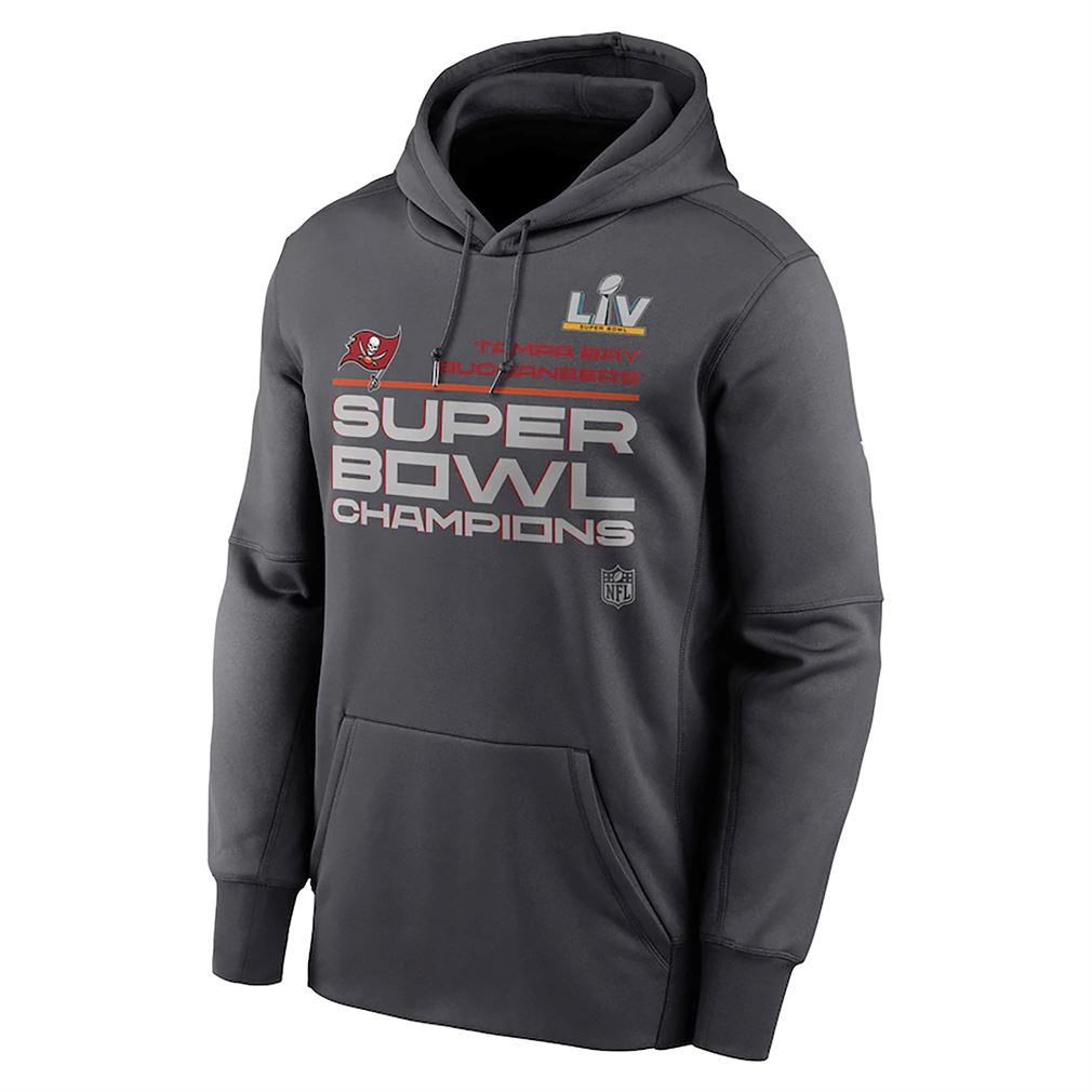 Tampa Bay Buccaneers Nike Super Bowl Lv Champions Locker Room Trophy Collection Pullover