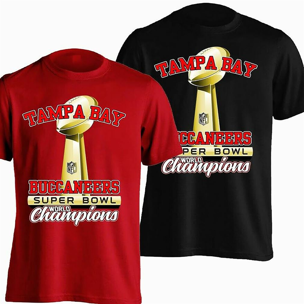 Tampa Bay Buccaneers Super Bowl 2021 Champions Shirt Unisex Gift For Fans