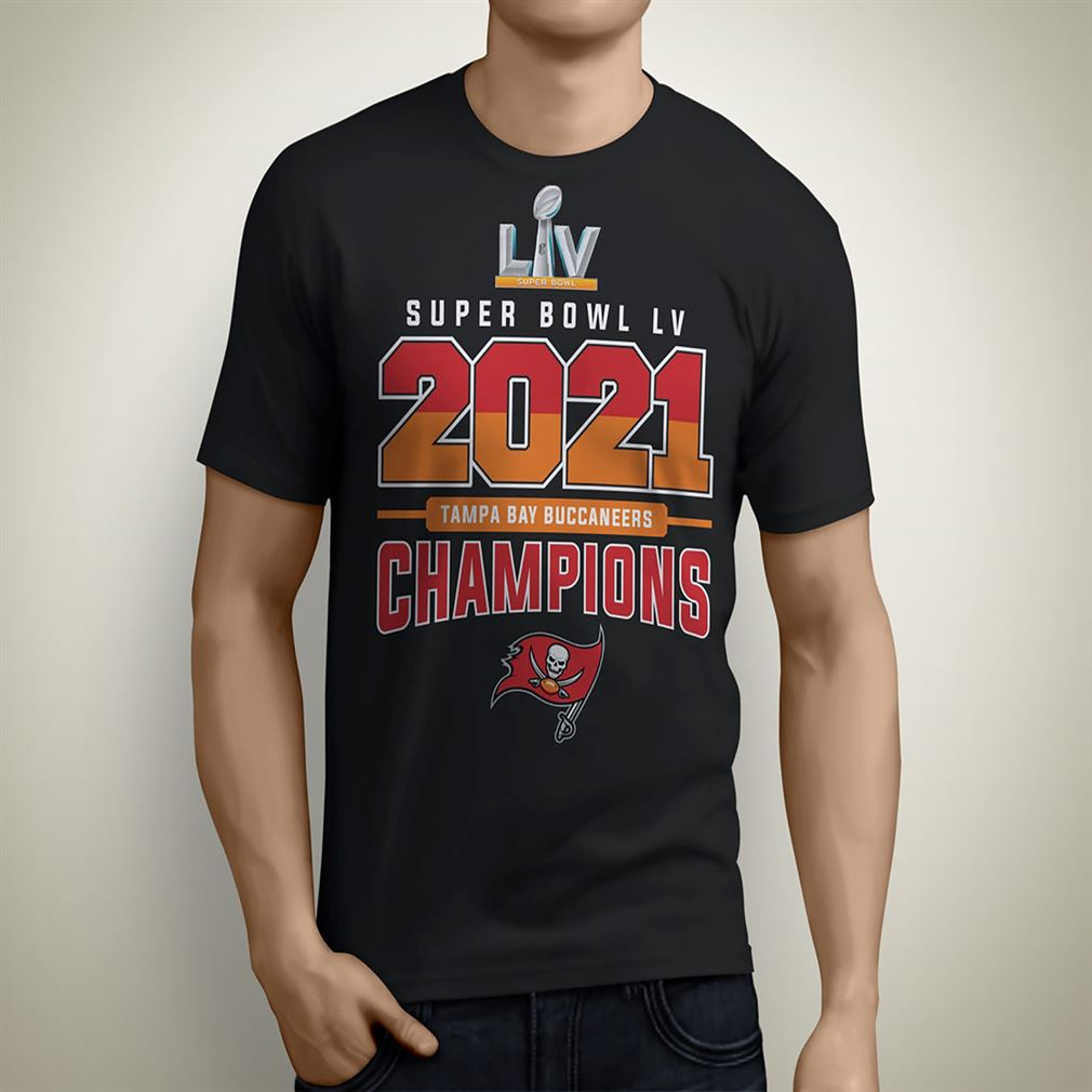 Tampa Bay Buccaneers Super Bowl Lv 2021 Champions- Adult