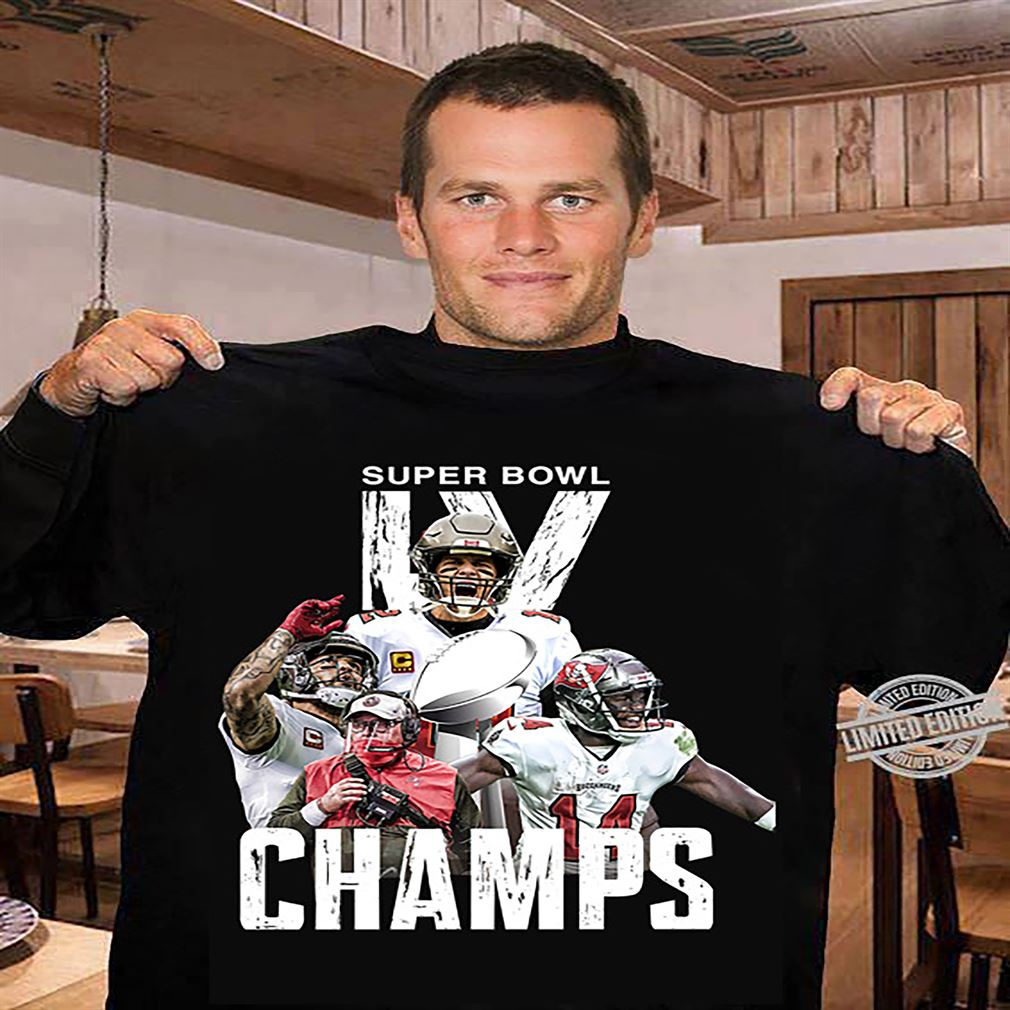 Tampa Bay Buccaneers Tom Brady Champions Super Bowl 2021 T-shirt