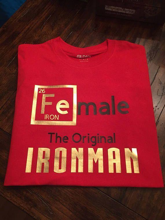 Female The Original IRONMAN T-Shirt/Hoodie/Sweater