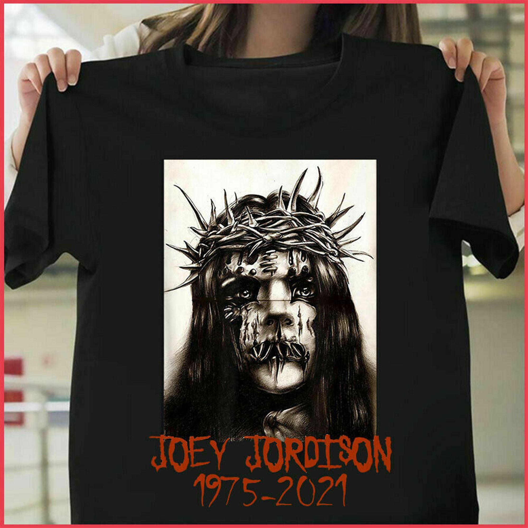 Joey Jordison Slipknot Rip 1975-2021 T-shirt Unisex Size S-5xl