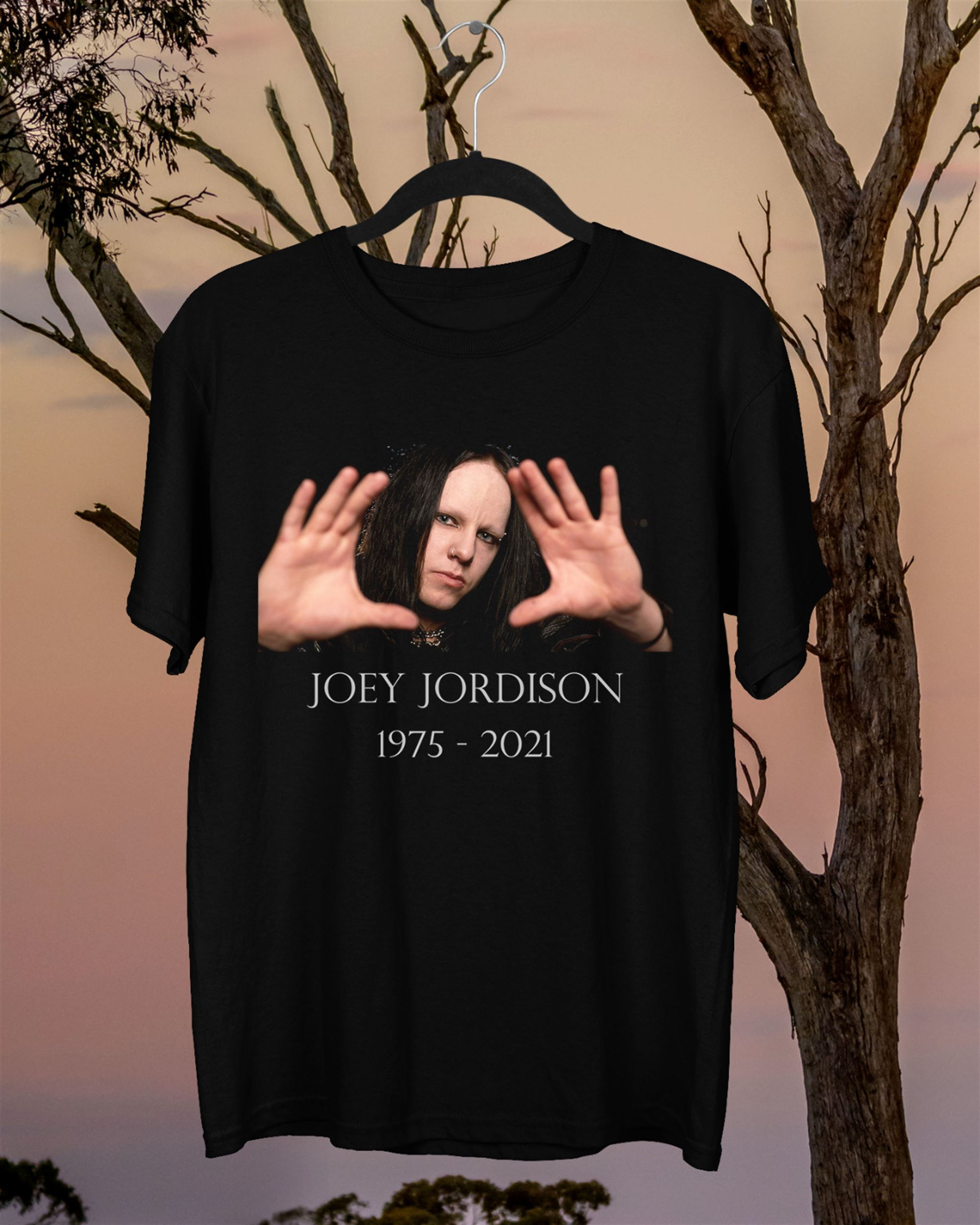 Joey Jordison Thank You For The Memories Black Unisex T-shit
