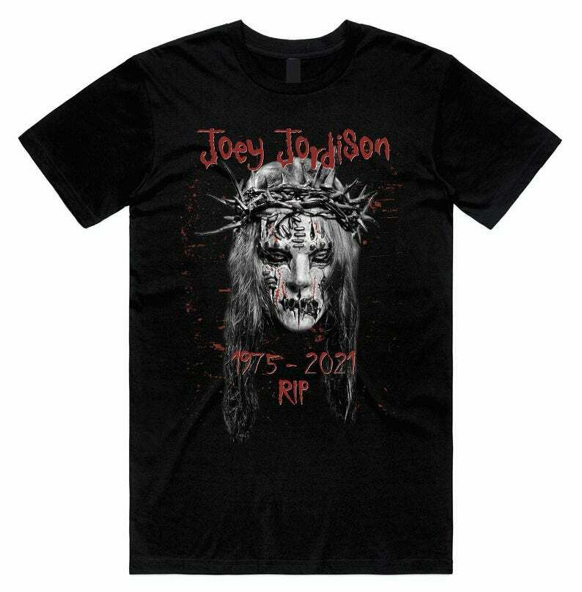 Rip Joey Jordison 5 T-shirt Cotton Size S-3xl